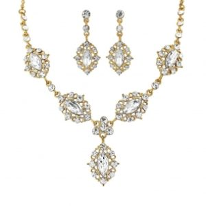CHIC BOUTIQUE NECKLACE SET - GOLD ( NK200)