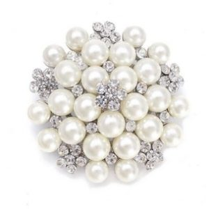 CLASSICPEARLBRIDALBROOCH (BRCH125)